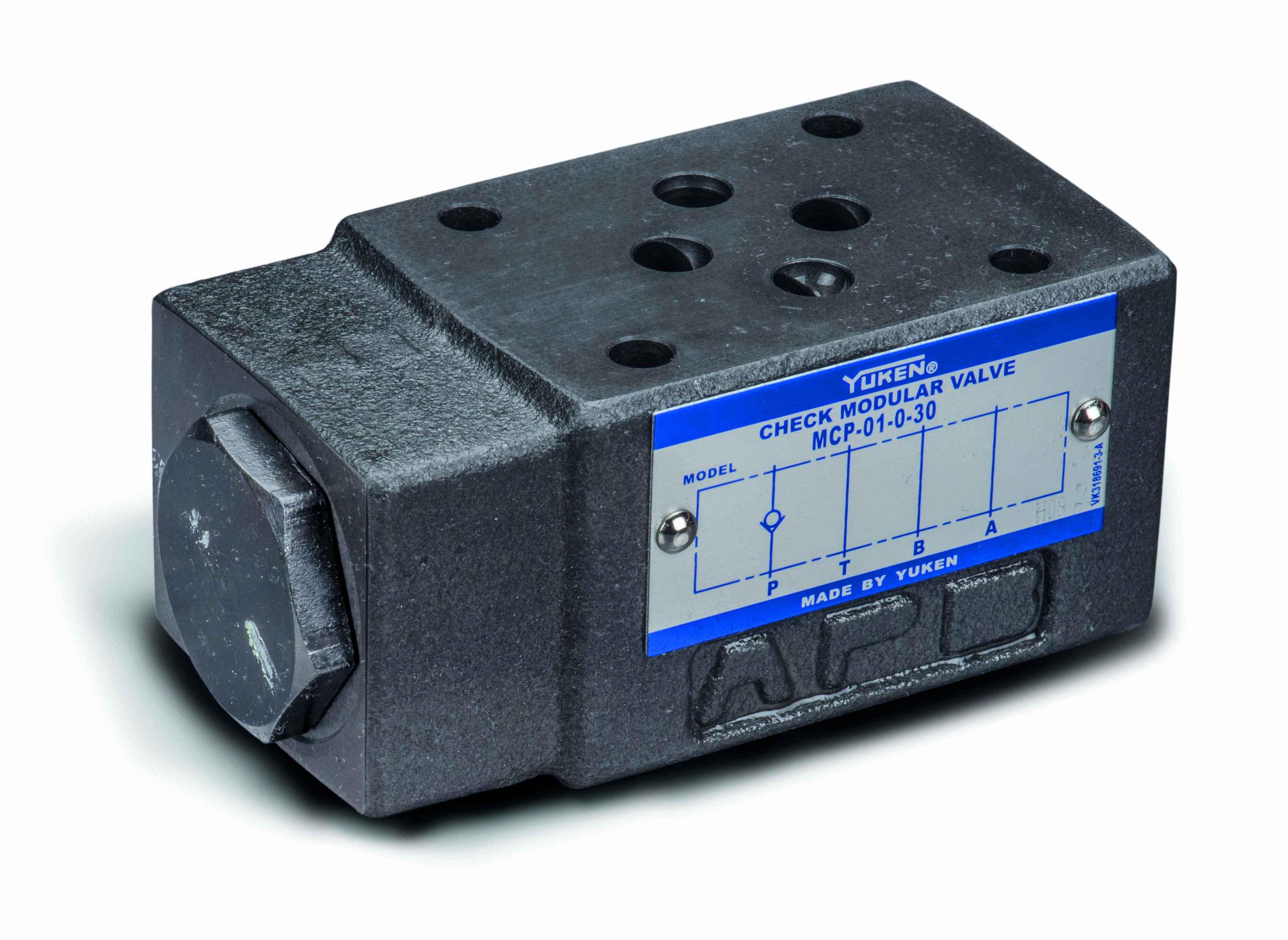 Cetop 3 NG6 check valve