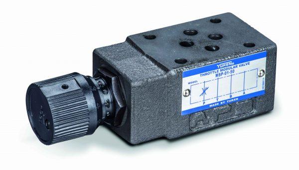 Cetop 3 flow control valve no check