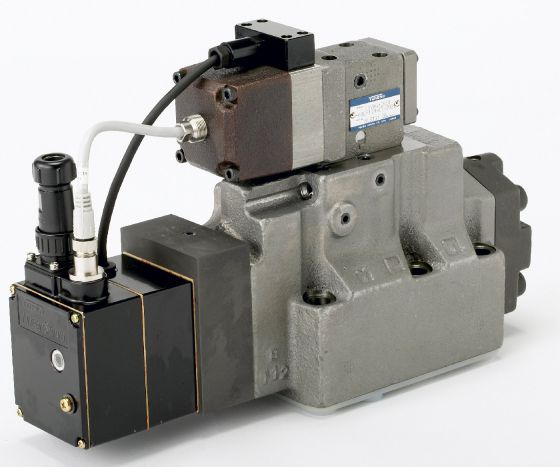 Cetop 8 (NG25) Two Stage Type High Speed Linear Servo Valves - LSVHG-06